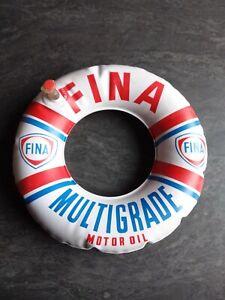 Ancienne objet publicitaire automobile garage Bouée Fina Petit Modèle 20 Cm