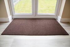 BEST Commercial Brush Entrance Mat Brown 80cm x 120cm UK Floor Mat