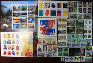 2019 U.S. STAMP COMMEMORATIVE COMPLETE YEAR SET , 116 STAMPS
