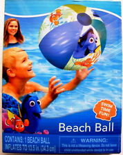 DISNEY PIXAR FINDING DORY INFLATABLE BEACH BALL,W/ DORY & NEMO,REPAIR KIT,2+,NEW
