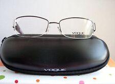 Vogue VO3818 WOMENS Silver & Purple Semi-Rimless Designer Eyeglass Frame w/Case