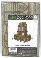 TTCombat SFG027 Gothic Corner Ruins B (Sci-Fi Gothic) Terrain Kit Scenery Ruin