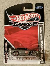Hot Wheels 2011 Garage Custom '67 Ford Mustang Coupe Silver 14/20 MOC