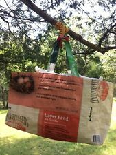 Upcycled Market Bag from Feed Sack