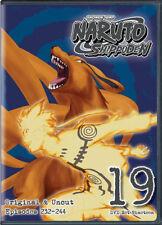 Naruto Shippuden Uncut Set 19 [New DVD] Full Frame, Subtitled