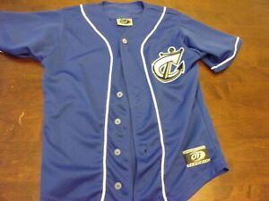 Columbus Clippers used youth medium OT sports minor league baseball jersey