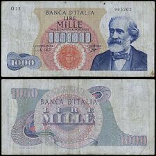1000 Lire Verdi I tipo 14/1/1964 Carli - Ripa