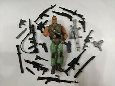 "3.75"" Gi Joe  the Corps Soldier #555 With  5pcs Guns  Rare Action Figure"