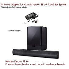 AC Power Adapter for Harman Kardon SB 16 Home Theater Sound Bar System