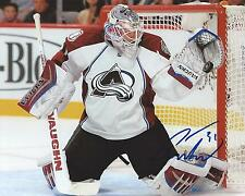 Calvin Pickard Signed 8x10 Photo Colorado Avalanche Autographed COA B
