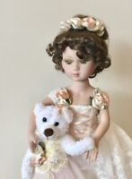 Victorian Porcelain Doll-Limited Edition Collectible Doll Princess Ballerina New