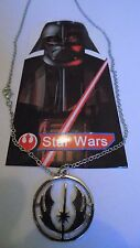 star wars jedi order symbol silver necklace length 50cm