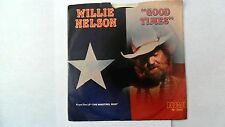 Willie Nelson Good Times & Where Do You Stand? 45 RPM RCA Record w/Sleeve