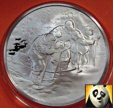 La storia marittima britannica Capitano Scott ANTARTICO EXP medaglia d'argento Proof Coin