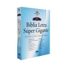 BIBLIA LETRA SUPER GIGANTE 18 Pts PIEL CON INDICES NEGRO