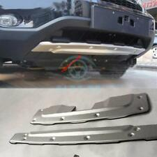 For Honda CRV 2010-2011 Aluminum Alloy Car 2x Front+Rear Bumper Protector Board