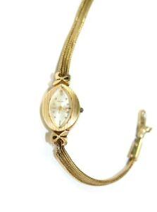 Vintage LONGINES 14K GOLD Swiss Wristwatch, 17 Jewels, Womens, ~$349 Scrap