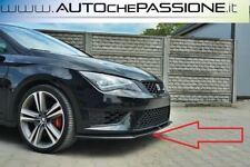 Splitter/Spoiler anteriore per Seat Leon 5F FR e Cupra 2012>2016 lip lama