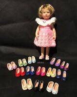 """Shoes for 7"""" Kish Riley Doll Slip-On with Bow You Choose from 6 Colors"""