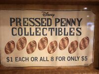 Disney Animal Kingdom Lion King Smashed Penny Set Of 8 Simba Nala Scar Mufasa 2