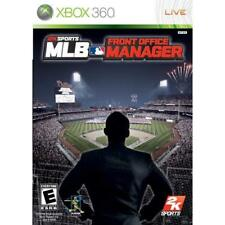 MLB Front Office Manager For Xbox 360 Baseball Game Only 0E