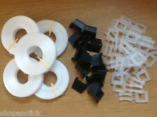 Polypropylene Plastic Strapping Banding / Buckles / Edge Protectors Small Kit