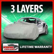 3 Layer Car Cover - Soft Breathable Dust Proof Sun UV Water Indoor Outdoor 3273