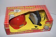Vintage 1990 ERTL Dad's Little Helper Toy Circular Saw Play Set - NIB