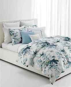 Lauren Ralph Lauren Eden Cotton Sateen 3-Pc. Botanical Full/Queen Duvet Set $270