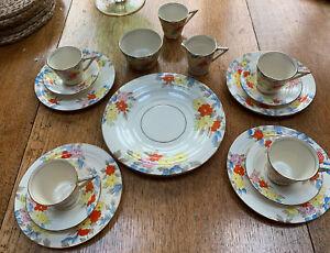 Thomas Forester Phoenix Ware Art Deco Tea Set - Posey