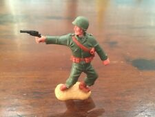 Timpo WW2 - US/ American Army - Officer with Pistol - GIs -1970's
