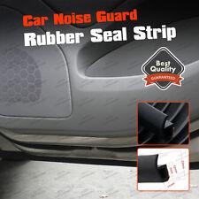 P-Shape 3M Rubber Edge Trim Door Strip Trunk Noise Seal Strip Weatherstrip 10ft