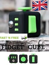 FIGET CUBE AUTISM ADHD FUN STRESS RELIEF FIDGET POCKET TOY GIFT FOR KIDS ADULTS