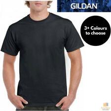 Gildan Cotton Solid T-Shirts for Men