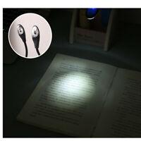 LED Livre Lampe Mini à Clipser Pliable Voyage Chambre Pince Dortoir de Lecture