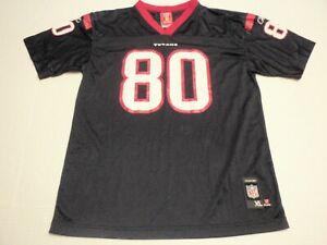 Andre Johnson Houston Texans Reebok NFL Players Jersey Boys Extra Large XL #80
