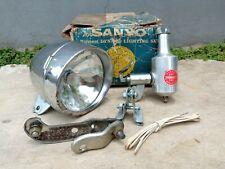 Vintage NATIONAL SANYO lamp set 6v 3w for vintage bicycles NOS