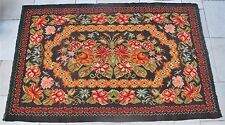"Late 19th C. Art Nouveau 97"" x 59"" Bessarabian Tapestry or Rug c. 1890 antique"