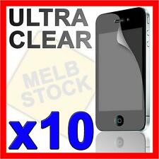10x Ultra Crystal Clear Screen Protector LCD Film Guard for Apple iPhone 4S 4 4G