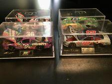 NASCAR Revell Lot of 4 1:64 Diecast Cars #36 Skittles #27 #97 John Deere #12 NEW