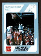 MICHAEL JORDAN 1989 COCA-COLA UNC TARHEELS FINEST #14 near mint