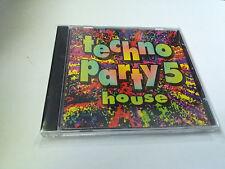 "CD ""TECHNO PARTY 5 HOUSE"" CD 12 TRACKS COMO NUEVO"