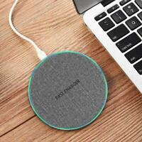 15W Wireless Qi Fast Charger Stand For Galaxy S10 S8 B3X2 Plus S9 New Edge W7P0