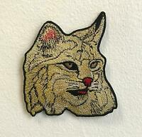 Cute Tabby cat Art Badge Iron on Sew on Embroidered Patch