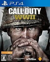 New SONY PlayStation4 PS4 Call of Duty World War II WW2 JAPANESE Version