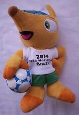 Orig.Maskottchen  WM BRASILIEN 2014  -  FULECO  //  20 cm  !!  SELTEN