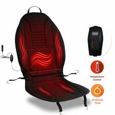 Zone Tech Heated Car Seat Chair Cushion 12V Heating Warmer Pad Hot Cover