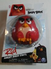 ANGRY BIRDS VINYL Rovio Video Game Character Figures RED Angry Bird Figure NEW