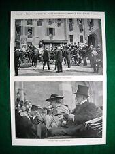 Nel 1921 Milano arcivescovo Ratti sen. Greppi, la Lega sir E. Drummond