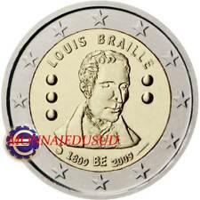 2 Euro Commémorative Belgique 2009 - Louis Braille